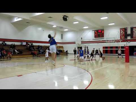 Boys Volleyball: ECR vs Cleveland 3/21/2018 (WVL League)