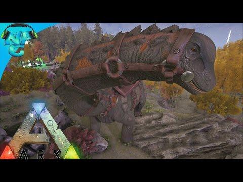 Taming a Titanosaur for our Nerd PaRAIDS! ARK Survival Evolved - PvP Season E23