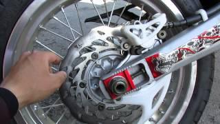 X-moto ZR 250 motard part 2