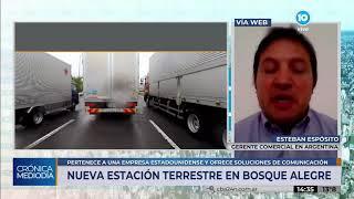 Ya funciona en Córdoba una nueva estación terrestre para comunicación satelital