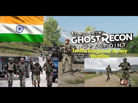 *Ghost Recon Breakpoint India Inspired Army Outfits |