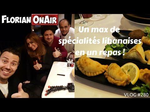 Un Max De Spécialités LIBANAISES En Un Repas - VLOG #280