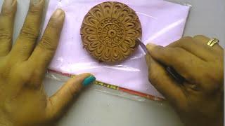 Terracotta jewellery : how to make a SIM...