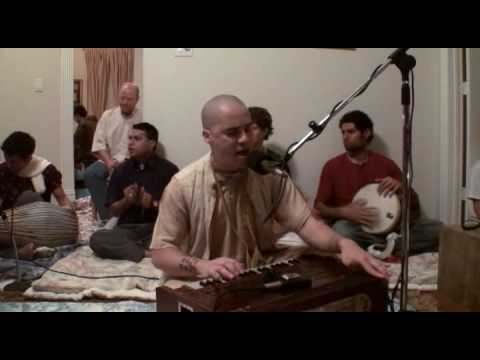 Nityananda Chandra das - Hare Krishna Bhajan - Home Program