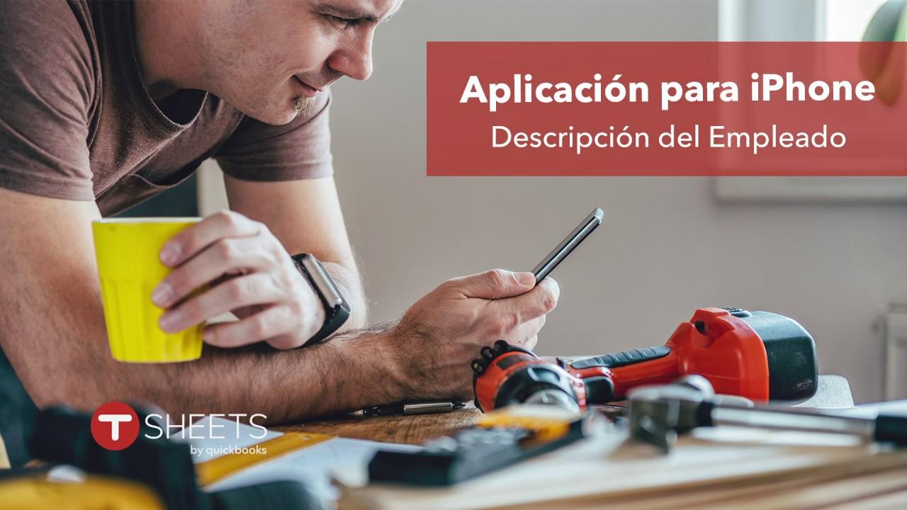 Aplicación para iPhone - Descripción del Empleado (iPhone App - Employee  Overview)