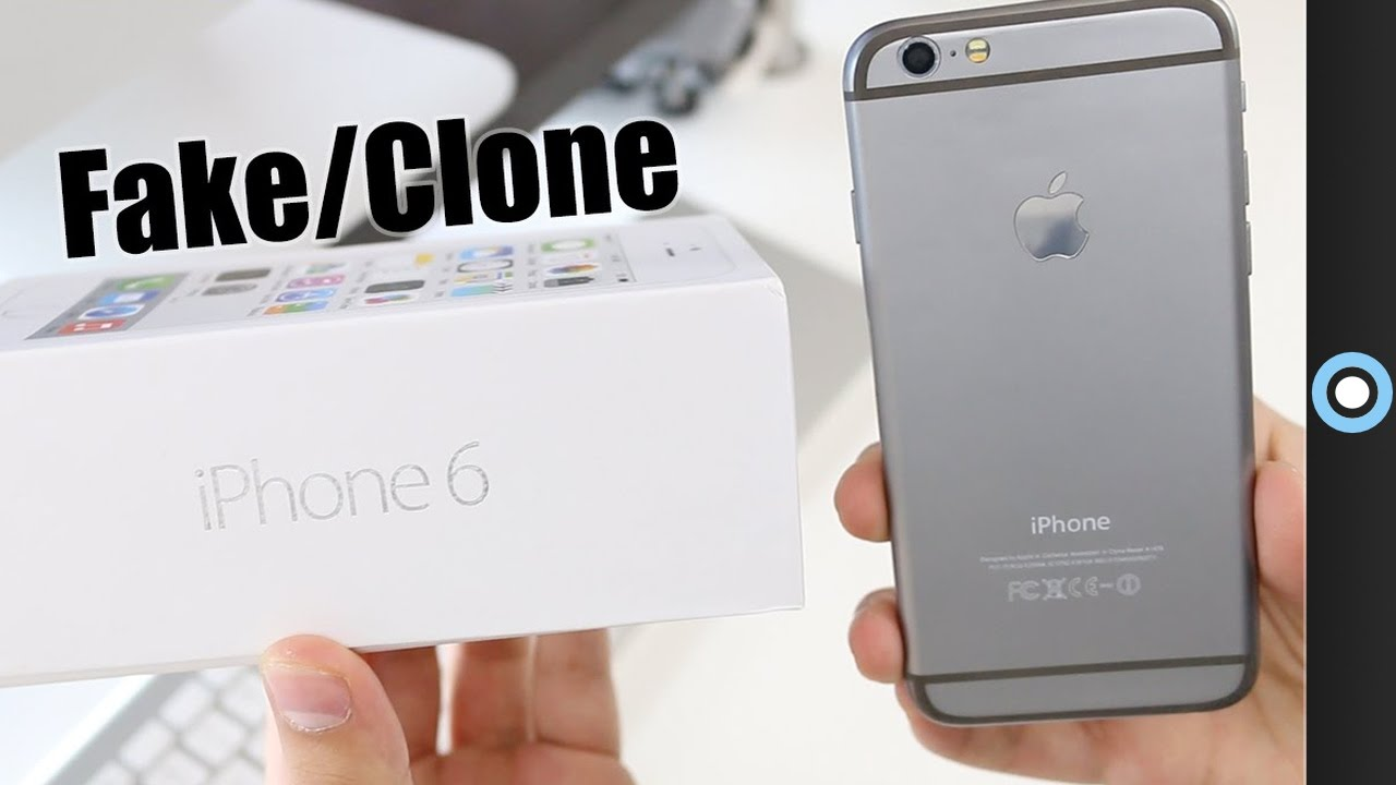 - clone Youtube 6 Fake Unboxing Iphone