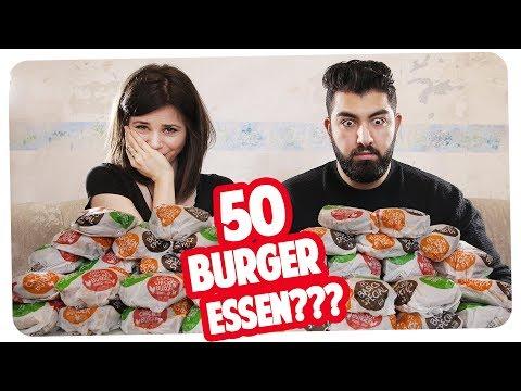 Dick vs. dünn | 50 Burger Wettessen gegen Faisal Kawusi | Joyce