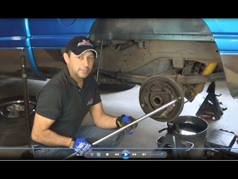 Custom Made Tool For Pre Loading And Adjusting Dodge RAM Differential Carrier Bearings