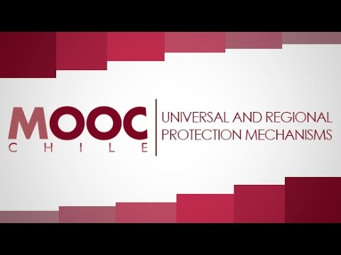 "Introduction to Human Rights | Lesson 18: ""Universal and Regional Protection Mechanisms"""