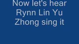 jj lin vs rynn lin yu zhong 淋雨中