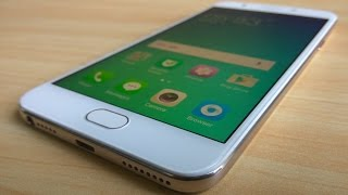 Oppo F1s Gold Full Review and Unboxing