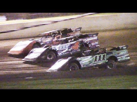 Super Late Model Heat One   Eriez Speedway   9-22-18