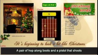 Download #0033 It's beginning to look a lot like Christmas (Karaoke, no vocal) MP3 song and Music Video
