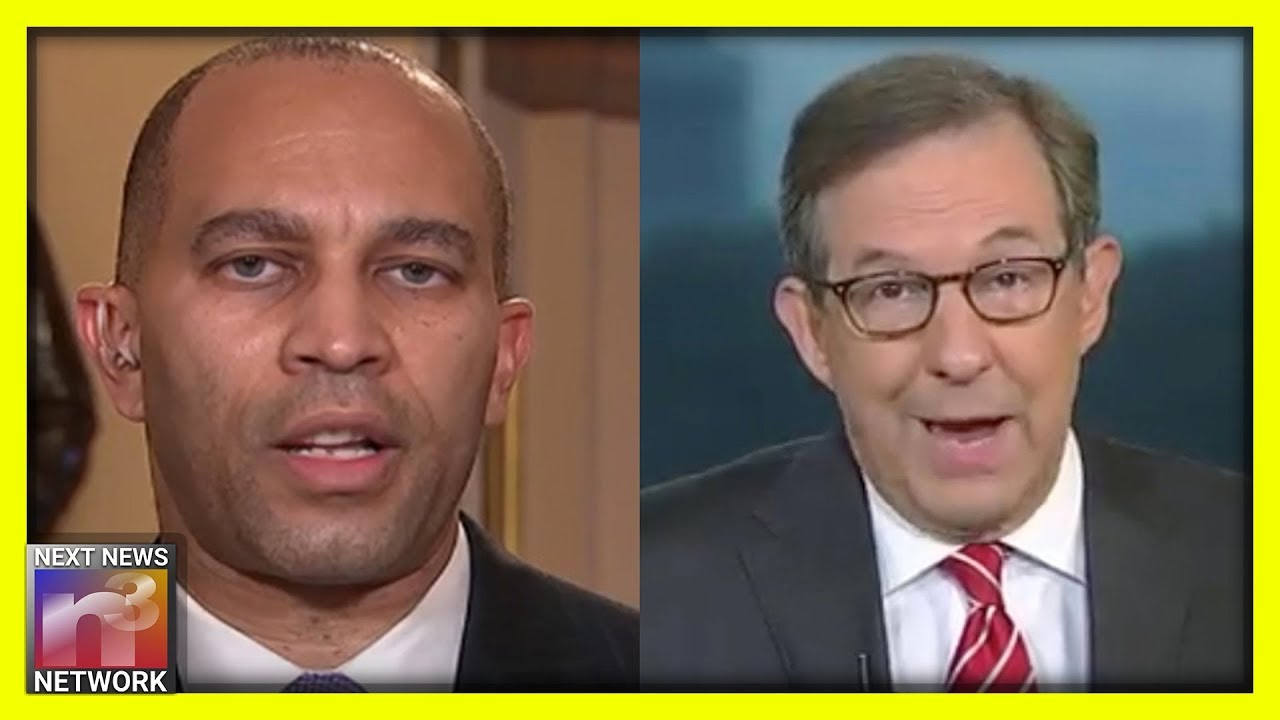 Chris Wallace is Heated! He REFUSES this Dem Rep. to the Support Public Impeachment Hearings