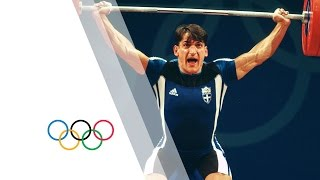 Pyrros Dimas Wins Weightlifting Gold At Third Consecutive Olympics - Sydney 2000 Olympics