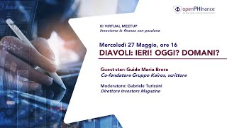 XI Virtual Meetup - Diavoli parte II