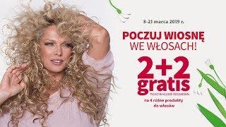Poczuj wiosnę we włosach | 2+2 gratis w Klubie Rossmann