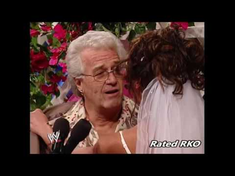 Dawn Marie and Al Wilson Wedding Dawn Marie strips Smackdown 2002