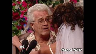 Dawn Marie and Al Wilson Wedding Dawn Marie strips Smackdown 2002