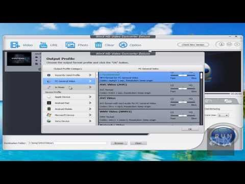 [How To] Use WinX HD Video Converter Deluxe Tutorial!