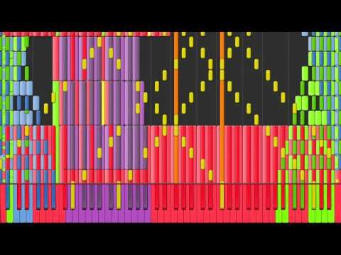 [Black MIDI] Synthesia – Christmas Songs Medley ~ Yoshibash143 x64