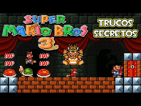 SNES Super Mario All Stars - Super Mario Bros 3 - Trucos Secretos