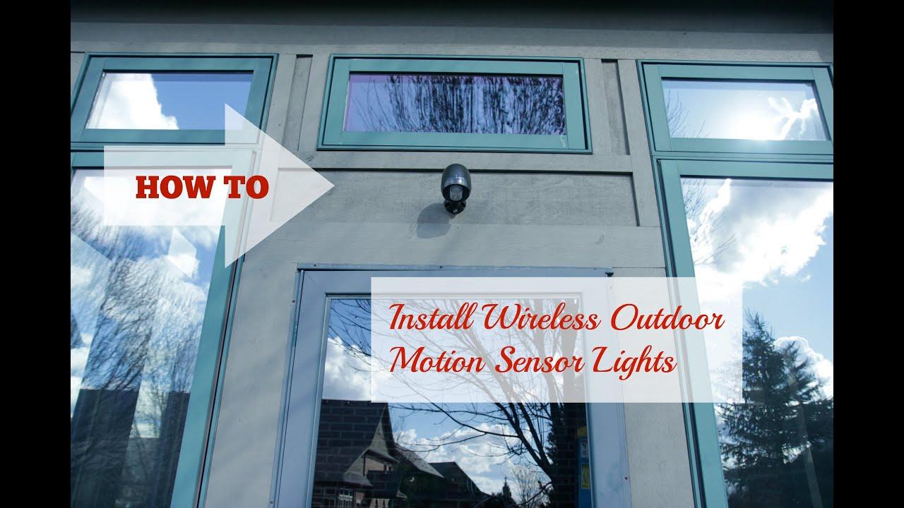 Diy install outdoor motion sensor light youtube diy install outdoor motion sensor light aloadofball Images