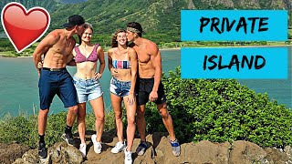 FINDING A PRIVATE ISLAND WITH JATIE VLOGS!
