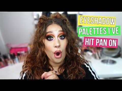Eyeshadow Palettes I've