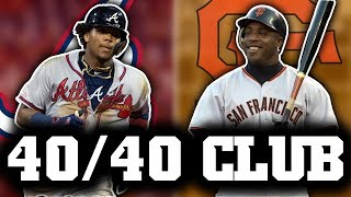 MLB 40/40 Club - 40 Home Runs & 40 Stolen Bases in 1 Season