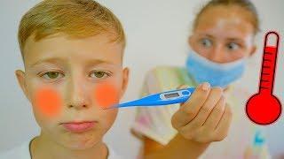 Sick Song -  Nursery Rhymes & Kids Songs