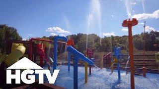 Backyard Water Adventure - HGTV
