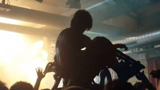 The Dillinger Escape Plan Wiesbaden Germany 3 Epic Crowdsurfing