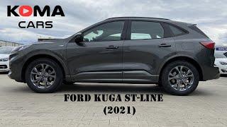 NEW Ford KUGA (2021) ST-Line (WALKTHROUGH), детали экстерьера, салона, багажника, габаритов,