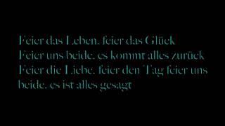 Rosenstolz gib mir Sonne Lyrics