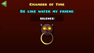 Geometry Dash Chamber of time all codes