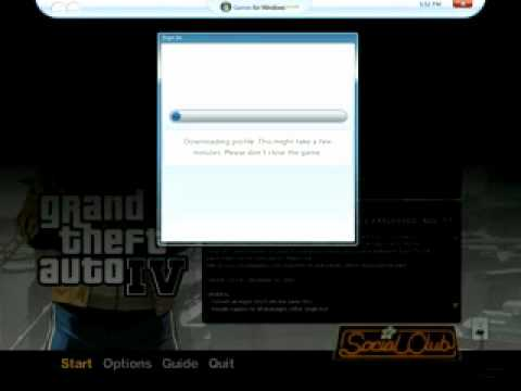 how to play gta 4 on windows live