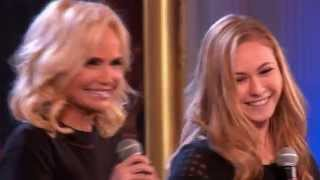 Kristin Chenoweth and Rachel Levy sing