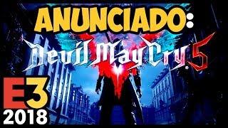 FINALMENTE! DEVIL MAY CRY 5 é ANUNCIADO! Trailer Legendado pt-BR +React #E32018