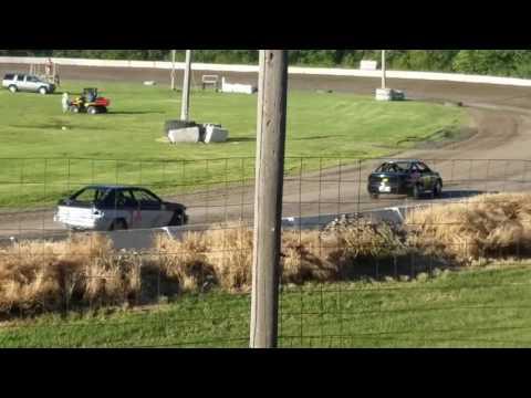 Dustin Virkus @ KRA Speedway- Heat 6.15.17