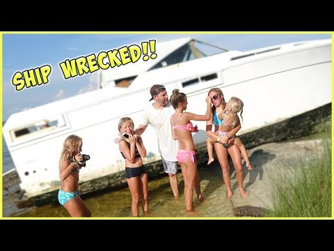 DID WE CRASH OUR BOAT INTO SHARK INFESTED WATERS?! TERRA JUMPS IN!
