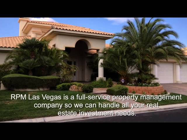 Leading Property Management Company In Las Vegas, NV – (702-478-8800