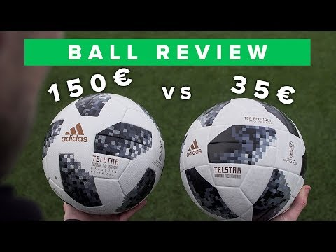 150€ vs 35€ adidas Telstar 18 World Cup football   worth the extra money?