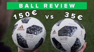 150€ vs 35€ adİdas Telstar 18 World Cup football review - worth the extra money?
