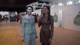 Интервью  модели Кристины Павловой  на Mercedes Benz Fashion Week Russia