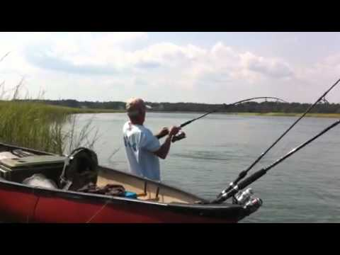 Red fishing murrells inlet youtube for Murrells inlet fishing