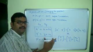 COMPUTER GRAPHICS -- BASIC 2D TRANSFORMATIONS