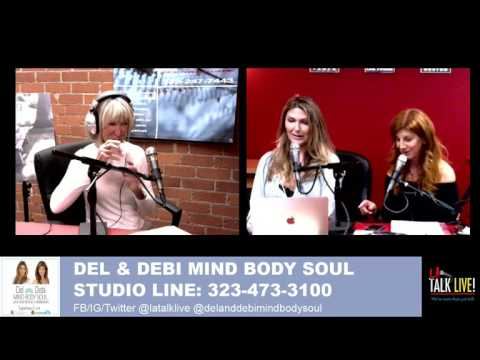"""Author of """"The Tug"""" Barbara Smith on Del and Debi's Mind Body Soul 05-02-17"""