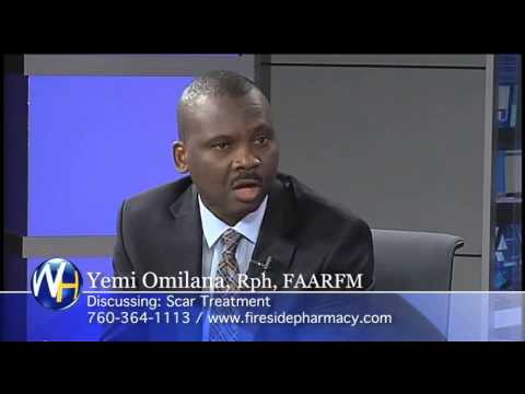 Scar Treatment with Yemi Omilana, Rph, FAARFM Palm Springs Compounding Pharmacist