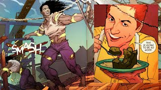 SHE-HULK vs. YouTuber With A Cooking Show [Not Kidding]